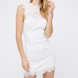 NWT Free People White Lace Dress
